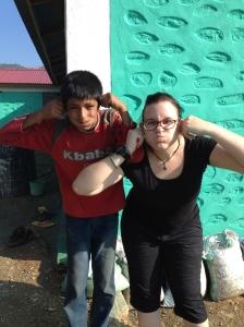 Emma and kid
